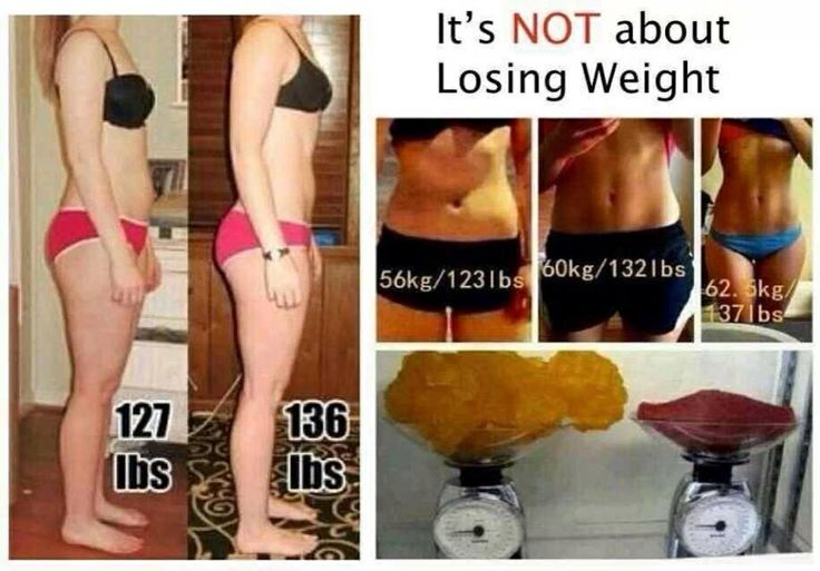Get over the numbers on the scales