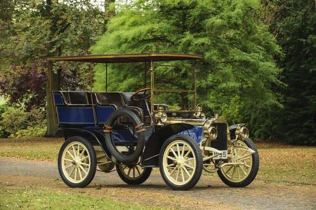 1903 Clément 12/16hp Four-Cylinder Rear-Entrance Tonneau   Chassis no. AC4R Engine no. 166