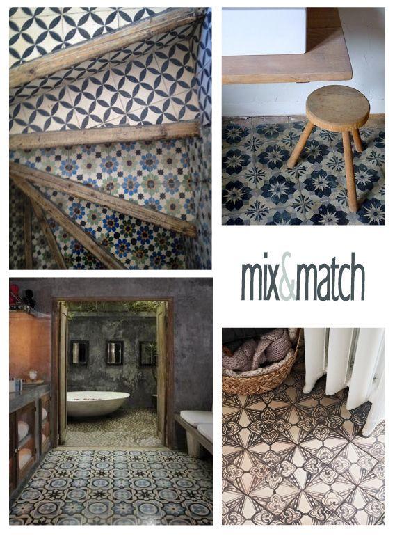 dettagli home decor: Mix&Match di piastrelle