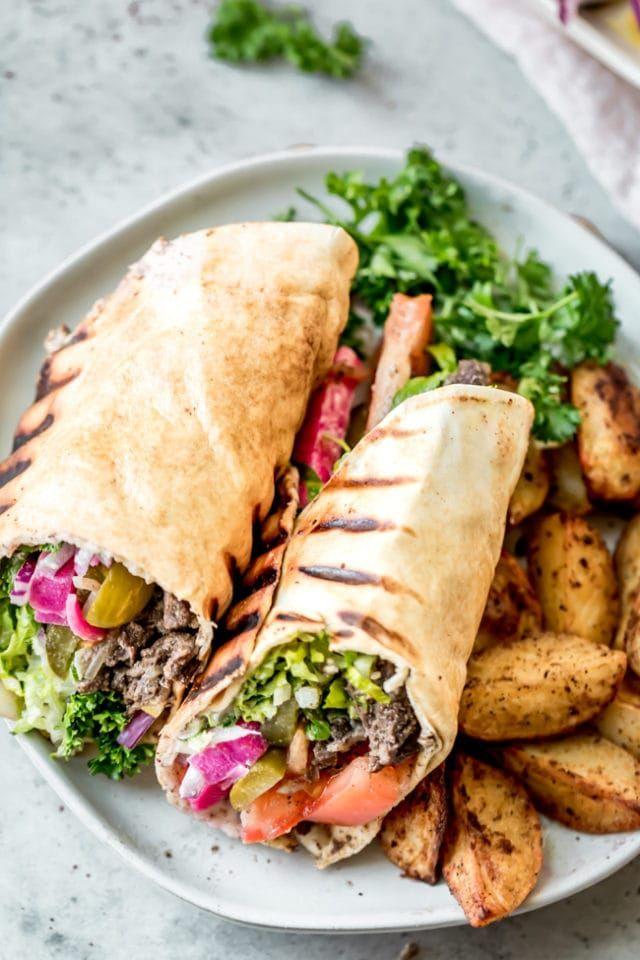 Shawarma de carne es bueno para la dieta ceto
