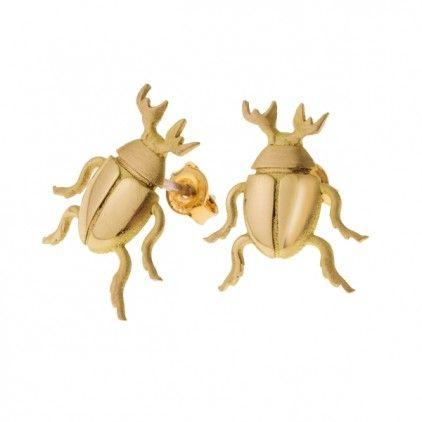 #scarab #earrings #orska