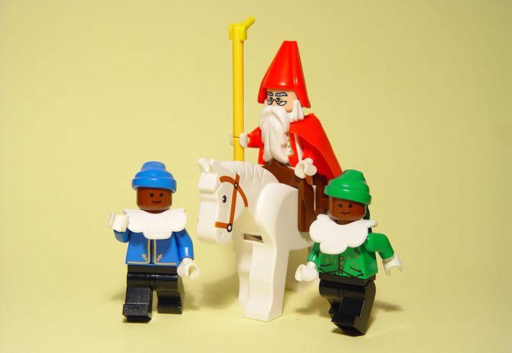 DIY Sinterklaas en pieten van Lego!