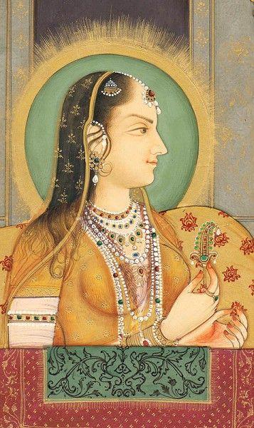 Arjumand Bano Begum aka Mumtaz Mahal daughter of Asaf Khan IV & wife of Shah Jahan