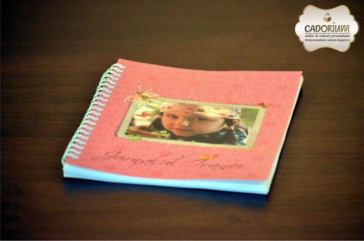 personalised photo notebook