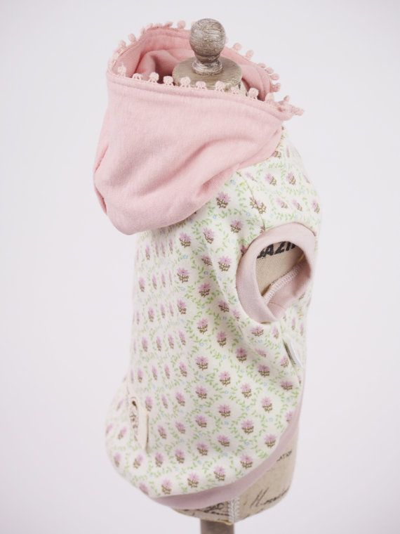 Dog Clothes Sleeveless dog clothes Hoodie by millacraSelection, ¥3800