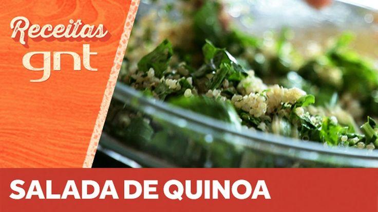 Receita de salada de quinoa | Bela Gil