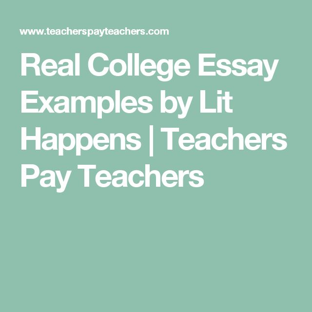 Best 25+ College Essay Examples Ideas On Pinterest | Essay Words