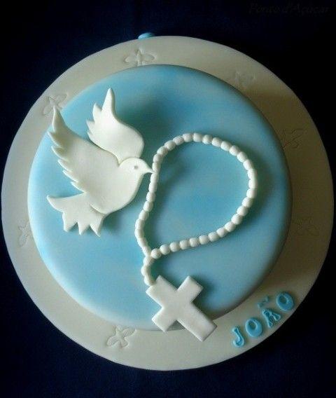 Cake Decor And More E U : 25+ basta Bolo crisma ideerna pa Pinterest Bolo primeira ...