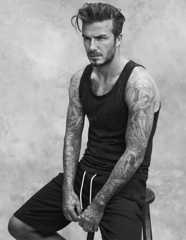 David Beckham Oh David Beckham Fryzury W 2019 Męskie