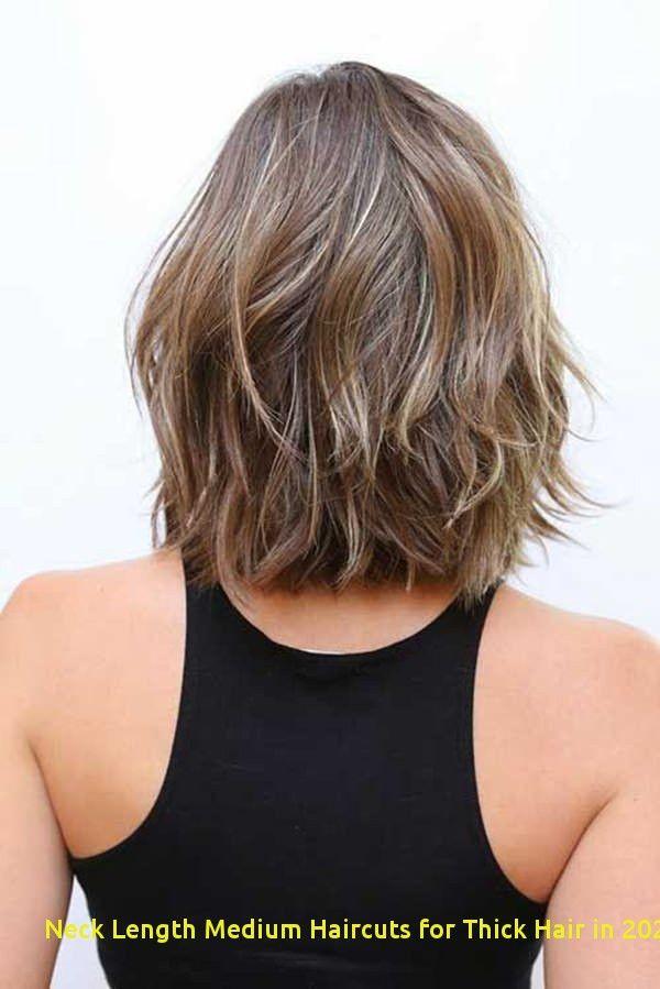 Neck Length Medium Haircuts For Thick Hair In 2020 60 Best Neck Length Medium Haircuts For In 2020 Layered Haircuts Shoulder Length Hair Styles Haircut For Thick Hair