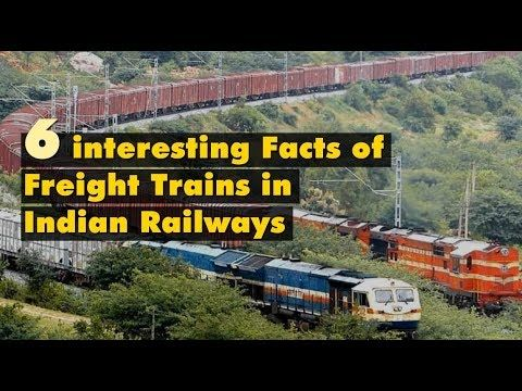 6 interesting Facts of Freight Trains in Indian Railways