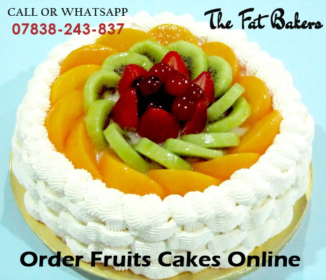 Nothing is as tasty and healthy as a fresh fruit cake. Buy this fresh fruit cake online now and send it to your best friend or family in Delhi. Call or WhatsApp +91-7838-243-837 or Visit: -  #yummy #deliciousness #donuts #dessert #sweetcakes #sweet#sweetie #cutecake #celebration #partytime #chocolatecake #birthday #happy #happybirthday #birthdaycake