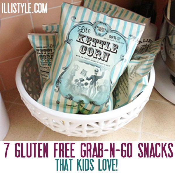 Gluten Free Snacks that kids love - illistyle.com