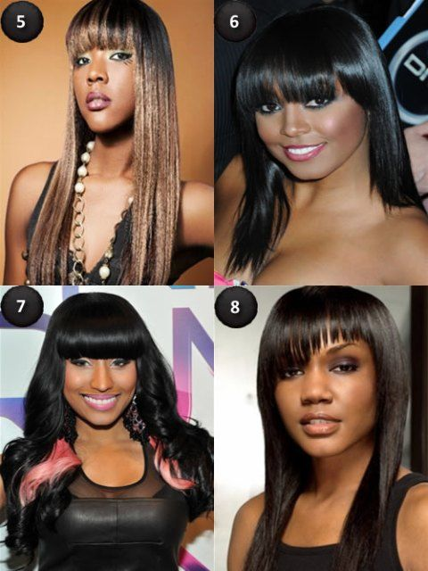 Long Hairstyles with Bangs | Hairstyles for long hair | Pinterest