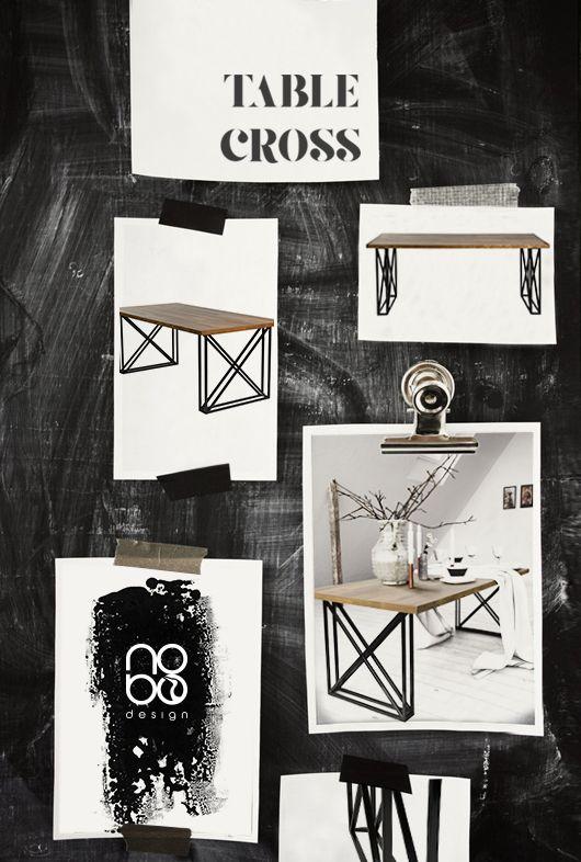 moodboard by nobo design Table CROSS www.nobodesign.eu