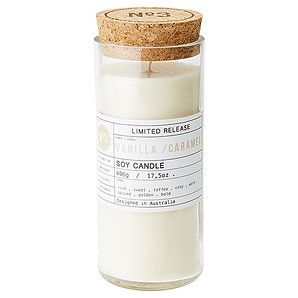 Fill your living space with the warm glow and pleasant atmosphere created by this scented candle. This beautiful soy candle is filled with the sweet,...