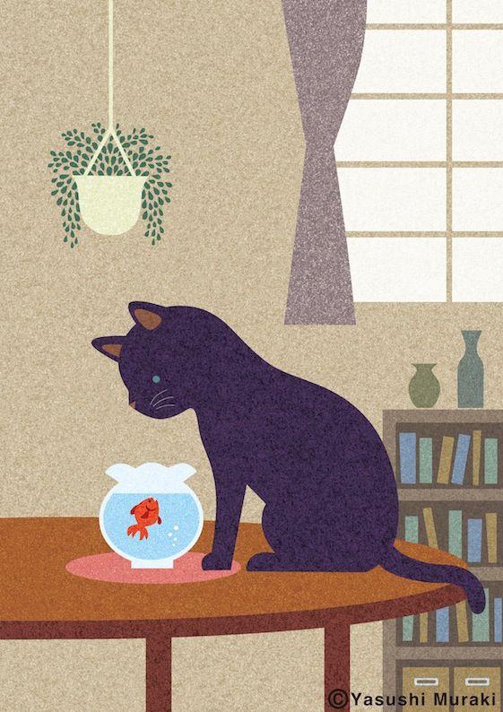 Yasushi Muraki Japanese illustrator http://melon33.jimdo.com/g-a-l-l-e-r-y/ …