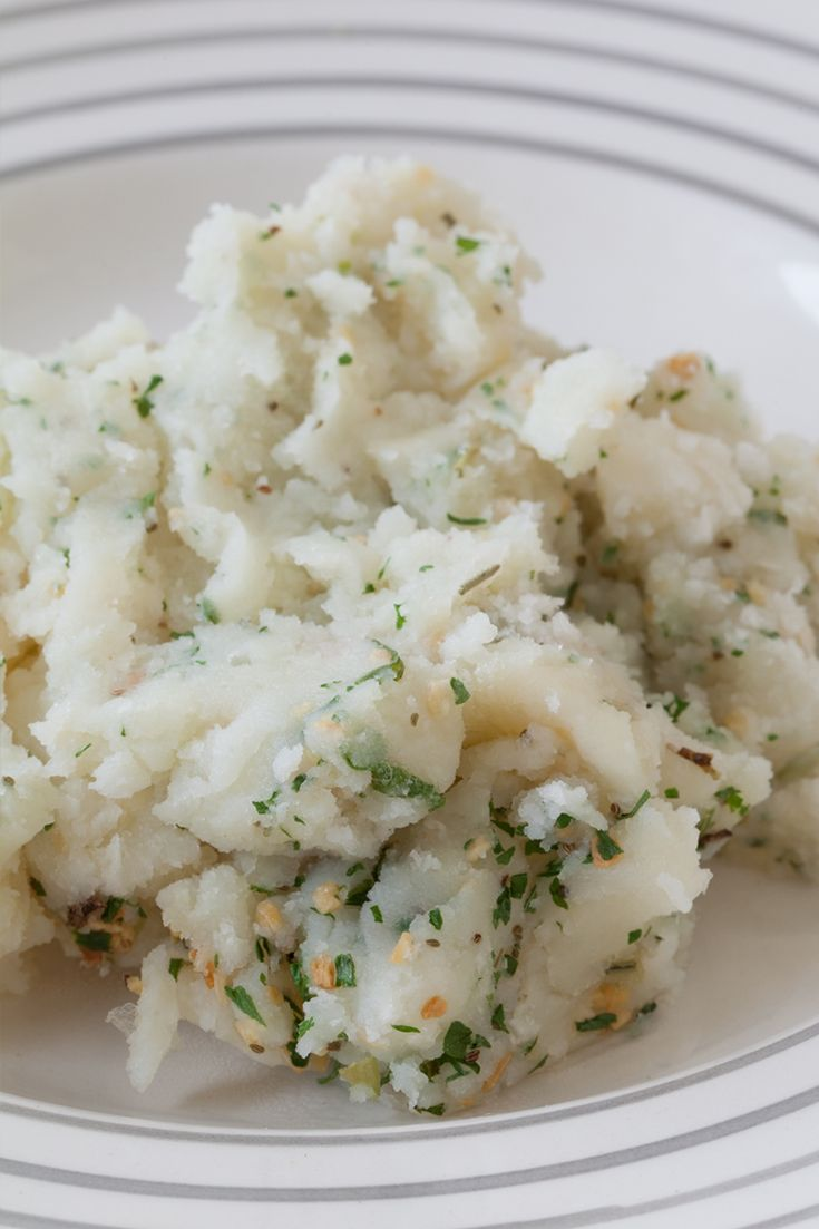 #Epicure Garlic Mashed Potatoes