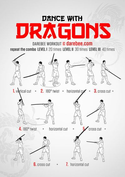 Dance with Dragons Workout  I wanted a reason for working out to be cool ... now I have a reason. *buys training sword