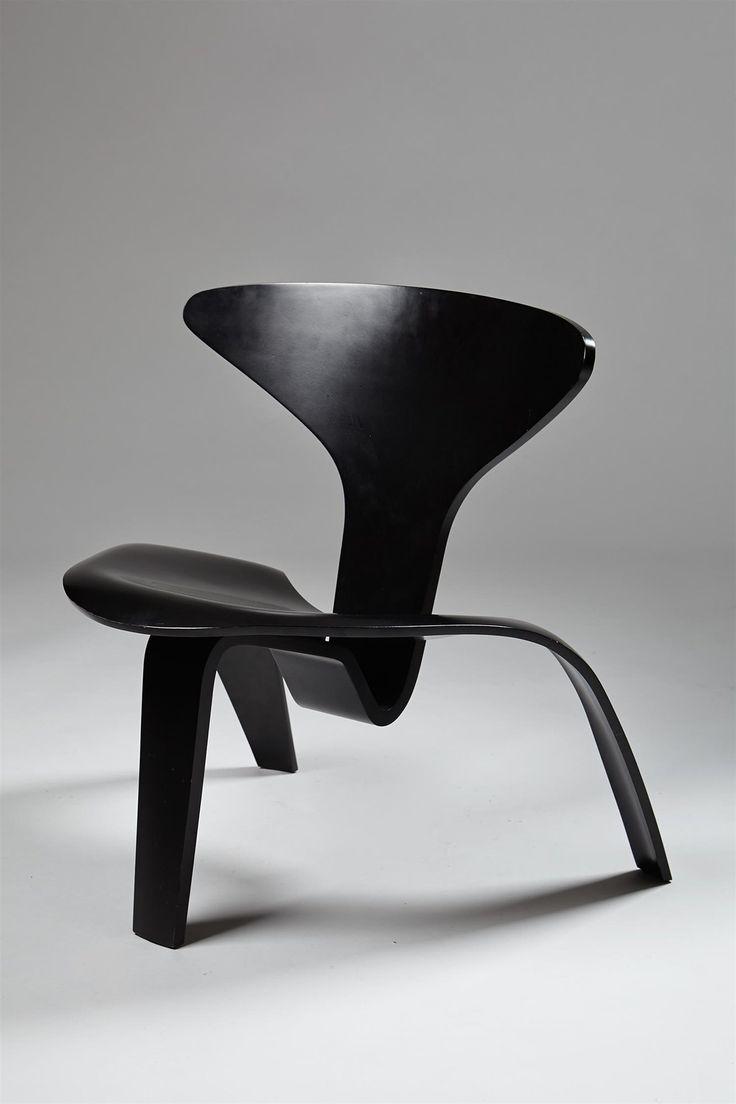 PK0, Chair Designed By Poul Kjaerholm, Denmark. 1952.