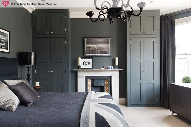 Built in alcove wardrobes around fireplace                                                                                                                                                                                 More