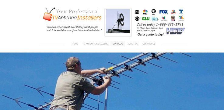 Your local TV antenna installer professionals!