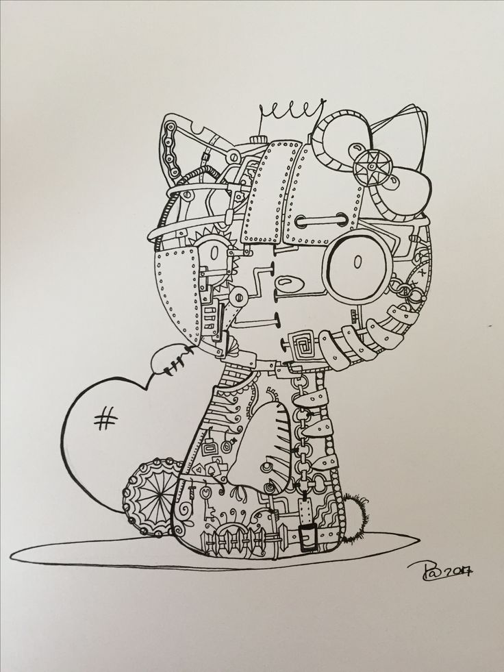 Steampunky kitty