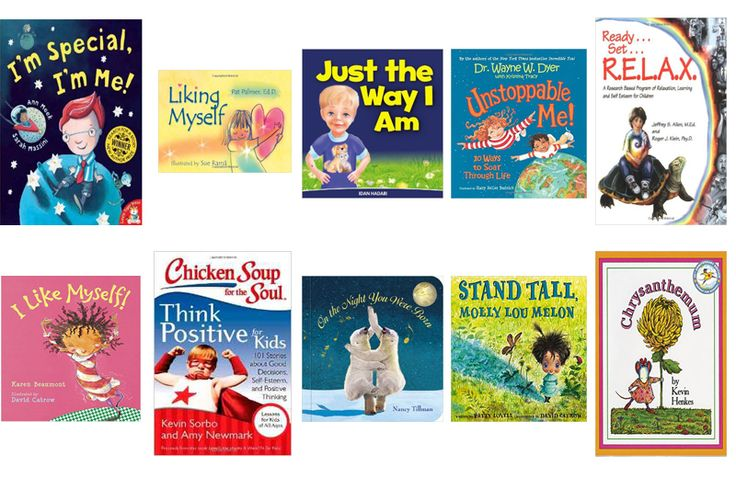 10 Books To Boost Your Child's Self-Esteem