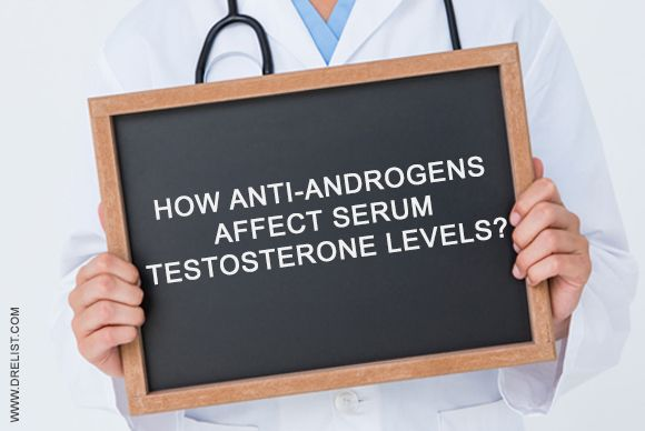 How #AntiAndrogens Affect Serum #Testosterone #Levels?  Anti-androgens are the naturally occurring or synthetic compounds that blocks the #androgen receptors within the #body when consumed.