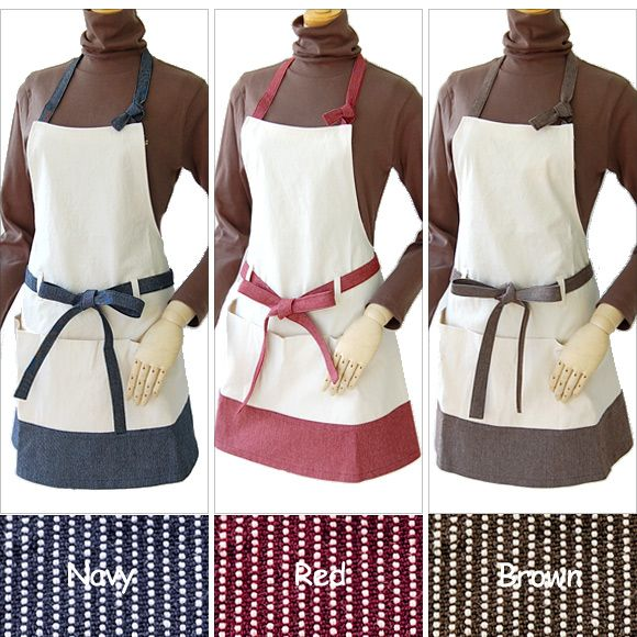 ES CREATION | Rakuten Global Market: Canvas and denim Hickory over all aprons