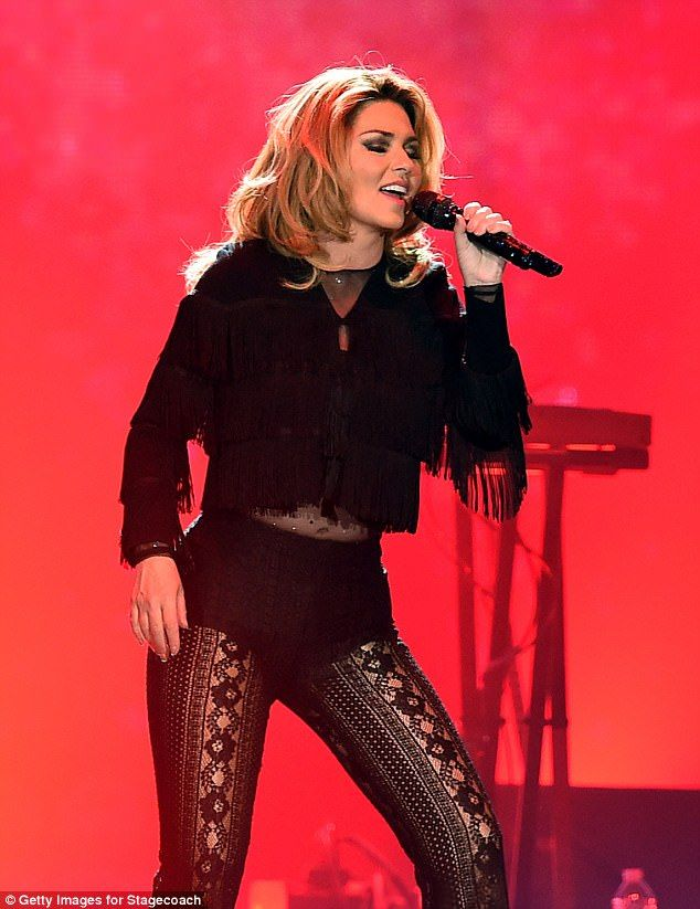 Wow! Shania Twain proved she is very much back as she stormed the headline spot at the Stagecoach California's Country Music Festival at the Empire Polo Club on Saturday night while unveiling her new music for the very first time