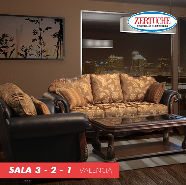 Sala 3 2 1 valencia decoracion muebles livingroom for Decoracion hogar valencia