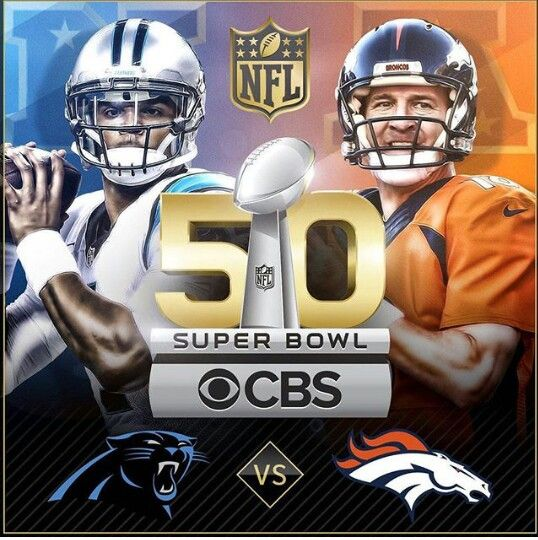 Broncos Vs Panthers SB 50