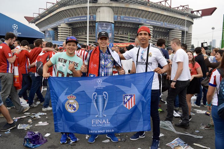 Final Champions League,  Real Madrid . Atletico Madrid