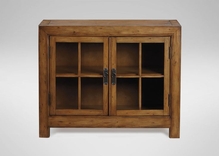 Ming Small Media Cabinet - Ethan Allen