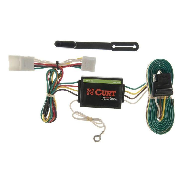 CURT VehicleSide Custom Vehicle Trailer Wiring Harness