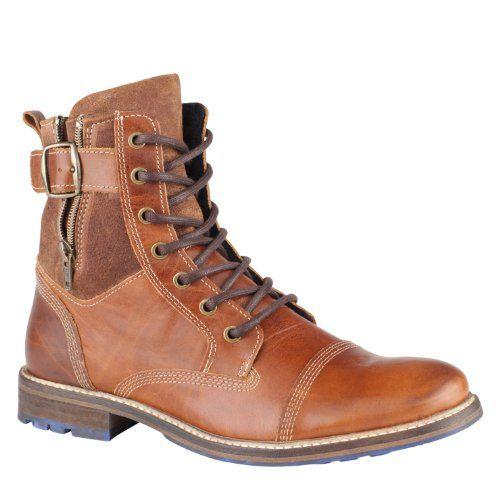 ALDO Hyatt - Men Dress Boots - Cognac - 10 - http://authenticboots.com/aldo-hyatt-men-dress-boots-cognac-10/