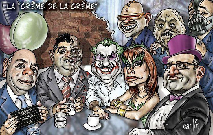 """La """"Bati-pandilla Basura de la TV peruana""""!"""
