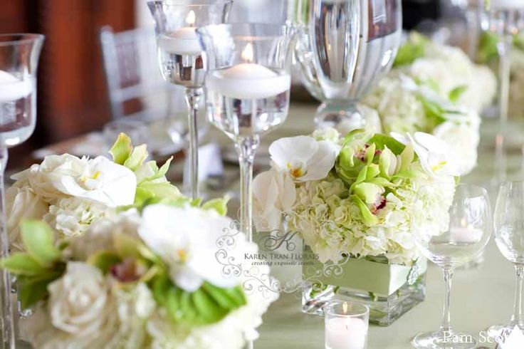 1000+ Ideas About Low Wedding Centerpieces On Pinterest