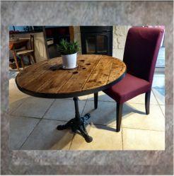 Les Meilleures Idées De La Catégorie Pied Table Metal Sur - Table pied metal plateau chene pour idees de deco de cuisine