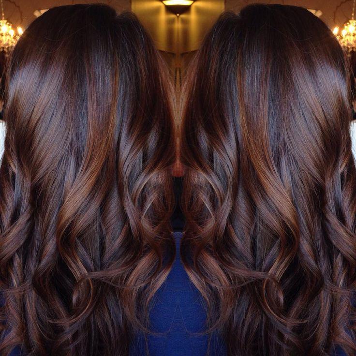 Best 25+ Brown hair with highlights ideas on Pinterest | Brunette ...