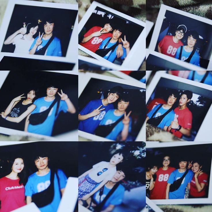 Staff(?)'s polaroids from Reply 1988 Phuket vacation