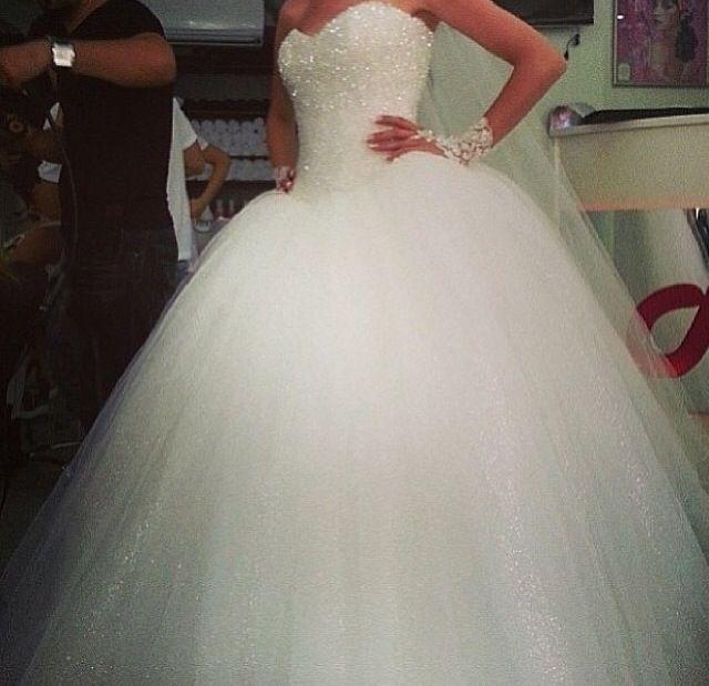 Wedding dress #sparkles #prefect