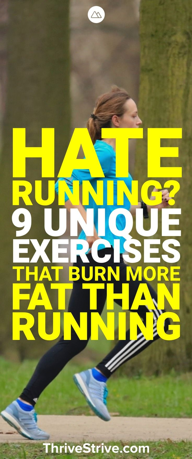Some people like to jog to lose weight while others want to find other things. Here are 9 exercises to help you lose weight that don't require running.