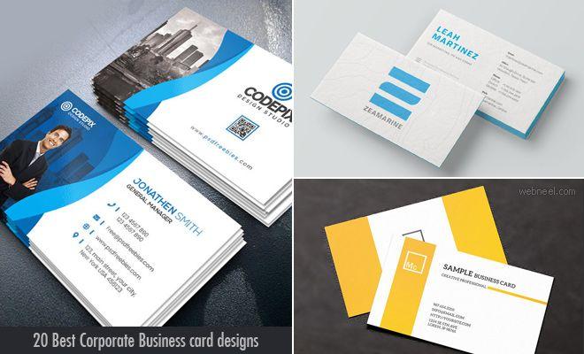 30 Best Corporate Business Card Design Ideas For Your Inspiration Business Card Design Corporate Business Card Design Graphic Design Business Card