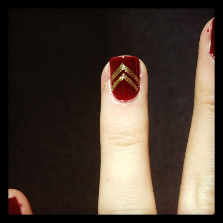 17 Best images about Nails on Pinterest | Nail art, Garnet and gold ...