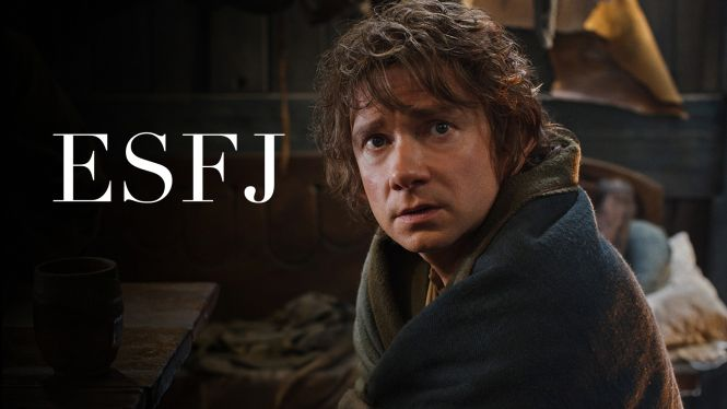 Bilbo Baggins The Hobbit. ESFJ  http://mbtifiction.com/2014/09/14/bilbo-baggins-esfj/