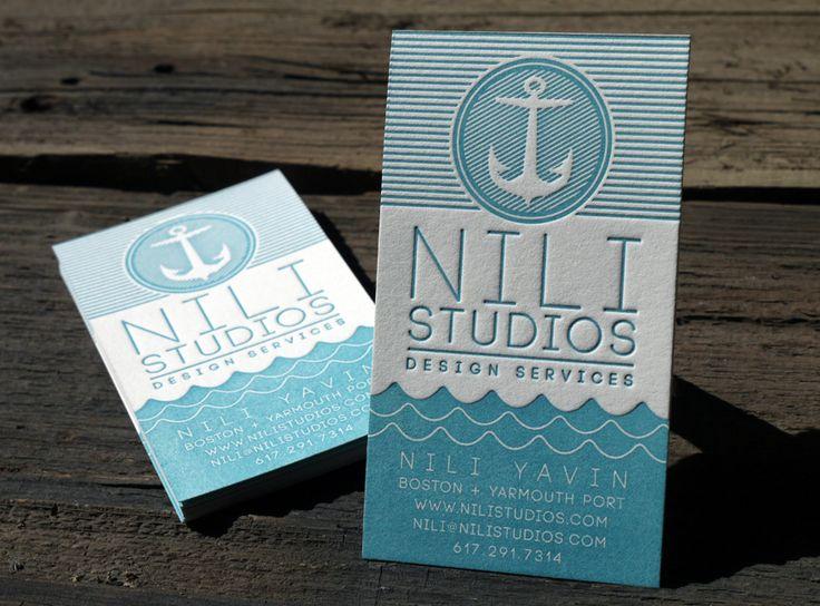 Nili Studios - Business Card Design Inspiration | Card Nerd