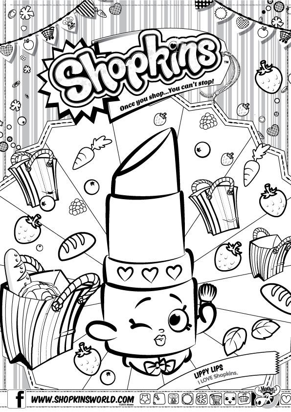 printable coloring pages of shopkins yahoo image search results - Hopkins Coloring Pages Print