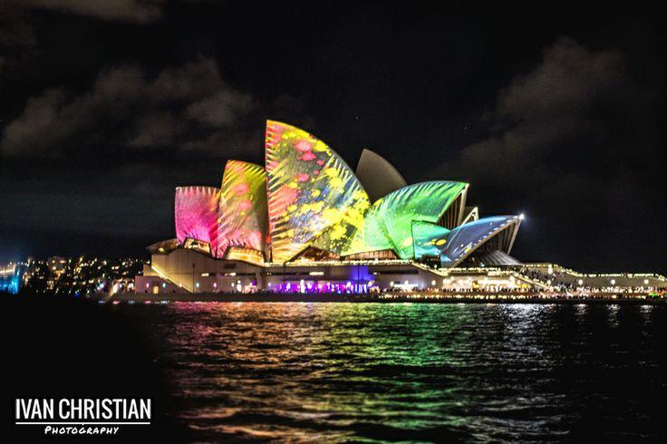 Vivid Sydney, the Opera House - Ivan Christian Photography